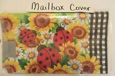 New listing Magnetic Mailbox Cover Ladybugs, Sunflowers, Daisy, Black & White Checks, Summer