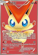 Pokemonkarte Victini, Full Art, Königliche Siege, 98/101