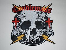 CANDLEMASS DOOM METAL EMBROIDERED BACK PATCH