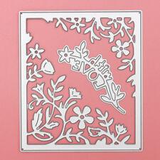 DIY Metal Cutting Dies Stencil Paper Craft Card Making Album Decor Flower