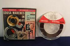 Richard Franko Goldman, Sousa Marches In Hi-Fi, ST7 8807, 2 track 7.5 IPS Reel
