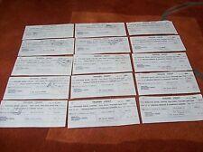 TRADERS CREDIT SLIPS 1951- 52 X 15 - midland bank / barclays  - thomas hedley