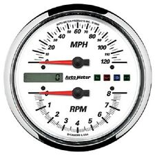 Auto Meter Drop-In Tach/Speedo Combo 95-03 Road King Wide Glide Softtail Harley