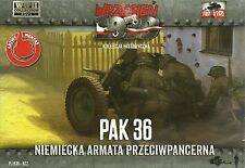 First To Fight 1/72 (20mm) 3.7cm Pak36 Anti Tank Gun and Crew (x2)
