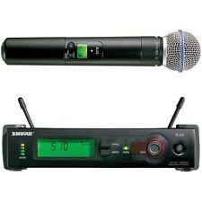 Shure SLX24/Beta58 Handheld Automatic Setup Wireless System