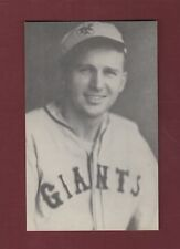 FRED LINDSTROM, Giants~ 1973 SPORTS SCOOP magazine HALL OF FAME NOMINEE postcard