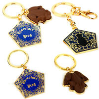 Chocolate Frog Keychain Metal Pendant Hogwarts School Keyring Wizard Magic GiN_N