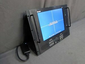 "* TESTED Marshall V-R154P 15"" 4-CHANNEL AUDO/VIDEO Rack Mount LCD Monitor"