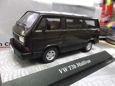 VW Volkswagen Bus t3 t3b Multivan Brown marrón met New premium classixxs 1:43