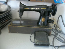Vintage Singer Sewing Machine W/ Foot pedal & Light