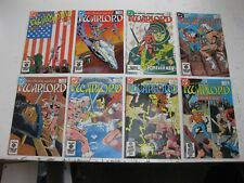 WARLORD 8 ISSUE LOT - #'s 84 through 91 - FN/VF CONDITION