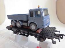 Fleischmann 5219 Flachwagen DB  beladen mit MAN-Zugmaschine