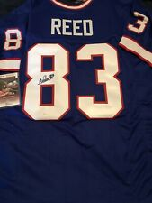 Andre Reed Signed Custom Jersey! JSA Certified