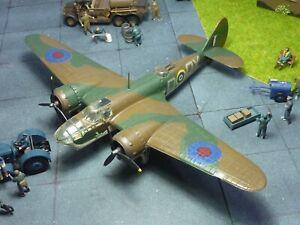 Bristol Blenheim IV 254 Sqn RAF 1/72 kit built & finished for display