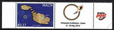 Malta 2014 Se-Tenant Philatelic Exhibition 8th - 10th May Essen Unmounted Mint