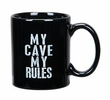 "Wholesale 30 Mugs ""My Cave My Rules"" 10 oz - Primitives By Kathy"
