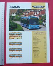 SCANIA Omni/Link - 2003 - prospekt prospectus brochure folder - bus Omnibus m
