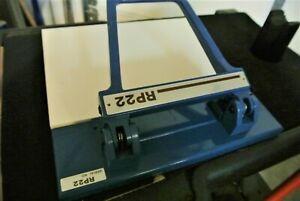 Ryobi RP 22 plate register punch rp22