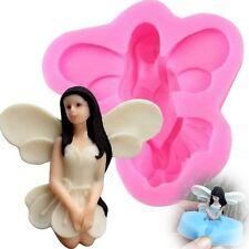 3D Fairy Angel Elf Silicone Fondant Cake Chocolate Baking Mould