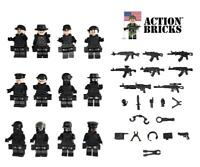 Action Bricks City Police Army Minifigure 12 Minifigures Total SWAT