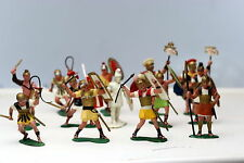 Louis Marx Plastic Toy Soldier  Warriors of the World