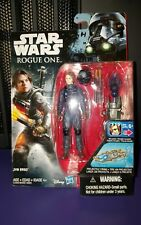 STAR WARS ROGUE 1  3.75' JYN ERSO ( IMPERIAL GROUND CREW DISGUISE )   2016