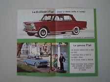 advertising Pubblicità 1961 FIAT 2300 / 1800 B