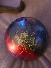 DV8 Creed Revelation Bowling ball 15 lb  brand new in box