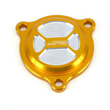 Gold CNC Oil Filter Covers Caps For Suzuki QuadSport LT-Z400Z QuadRacer LT-R450