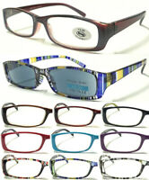 L191 High Quality Reading Glasses/Metal Hinges/Classic Style/Small Frame Design
