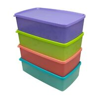 Tupperware Snowflake Double Square Round Chiller Set x 8 units - Free Shipping