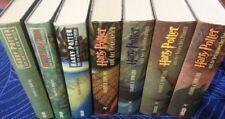 Harry Potter Büchersammlung Band 1-7 komplett, deutsch, gebunden, guter Zustand