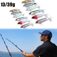 1PC Plopper Fishing Lure Topwater Rotating Tail VMC Hooks Bass Fishing Baits