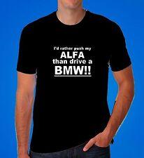 ALFA ROMEO ALFA Alfasud GTA 155 156 147 GT GTV 75 Dad Regalo Auto Divertente T Shirt