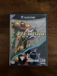 Metroid Prime NINTENDO GameCube, Cib With Manuals, No Bonus Disc, Cleaned/Tested
