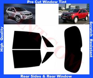 Kia Sorento 5D 2010-2014    Pre-Cut Window Tint 5%-50% Rear Window & Rear Sides