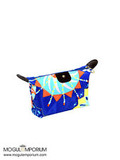 BLUE Portable Travel Cosmetic Waterproof Make Up Bag Toiletry Purse Holder Pouch