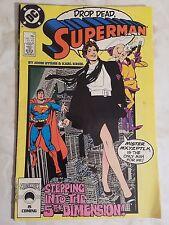 Superman Drop Dead  #11  Nov 1987, DC Comics