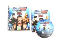 WWE SmackDown vs. Raw 2008 Featuring ECW Sony PlayStation 3 PS3 Disc & Case