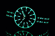 Aragon BioLuminescence Blue Dial & Accents NH35 Automatic 44mm Stainless Watch
