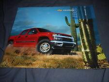 2007 Chevy Chevrolet Colorado Pickup Truck Color Catalog Brochure Prospekt