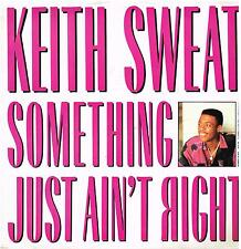 """KEITH SWEAT: SOMETHING JUST AIN'T RIGHT   (3 Track 12"""" Single)"""