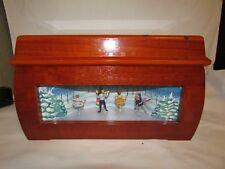 Mr. Christmas Musical Melodium Music Box -nutcracker  Dancers w/10 cylinders