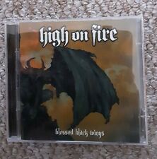 High on Fire : Blessed Black Wings CD + DVD (2005) - Metal