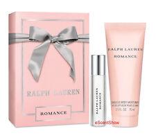 NIB ROMANCE RALPH LAUREN SET .5 OZ EAU DE PARFUM SPRAY + 2.5 BODY MOISTURIZER