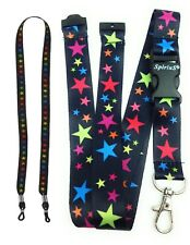 Spirius Lanyard neck strap for ID Badge Holder + Glasses cord spectacle chain