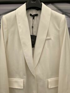 NEXT EMMA WILLIS COLLECTION CREAM BLAZER SIZE UK 12 BRAND NEW WITH TAGS!!