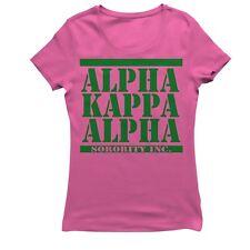 ALPHA KAPPA ALPHA ARMY STACKED T-SHIRT
