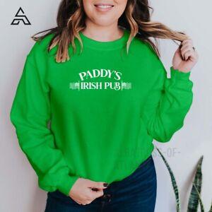 Paddy's Irish Pub ST PATRICK'S DAY DRINKING TEAM drinking team Sweatshirt (248)A
