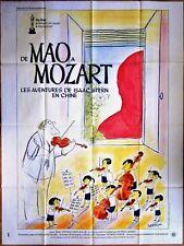 Jean-Jacques SEMPE * 1979 * DE MAÔ A MOZART * Affiche Originale 120 x 160 cm
